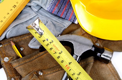 Image of construction tools